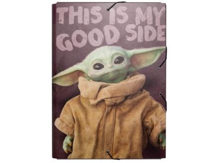 Fascikla A4 - lastiš, SW The Mandalorian - Star Wars