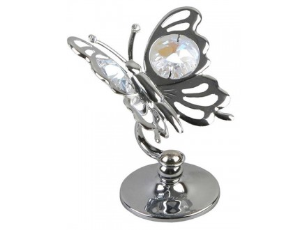 Figura - Butterfly Ornament with Crystal