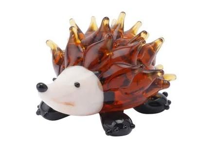 Figura - Fox and Fern, Glass Hedgehog - Fox and Fern