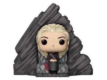 Figura - GOT, Daenerys on Dragonstone Throne - Game of Thrones