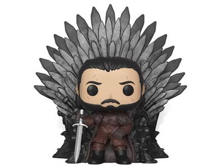 Figura - GOT, Jon Snow sitting on Iron Throne - Game of Thrones