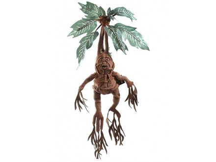 Figura - Harry Potter, Mandrake Collector Electronic Plush - Harry Potter