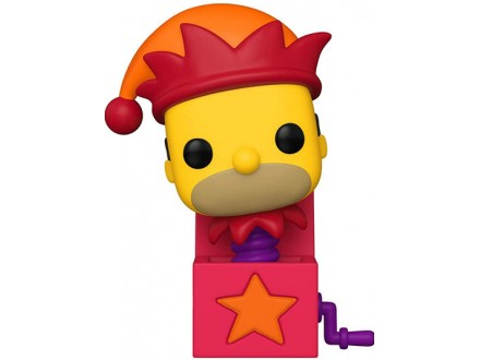 Figura - POP Animation, Simpsons, Homer Jack In The Box - The Simpsons