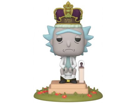 Figura - POP Deluxe, Rick &; Morty, King of $#+ - Rick and Morty