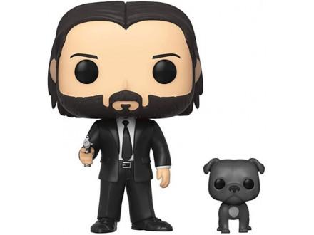 Figura - POP Movies, John Wick, John in Black Suit &; Dog - John Wick