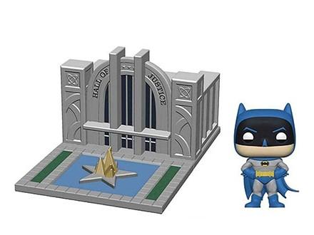 Figura - POP Towns, Batman, 80th Hall of Justice&;Batman - DC Comics