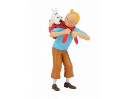 Figura - Tintin Carrying Snowy - Tintin
