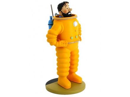 Figura - Tintin, Haddock, Astronaut - Tintin
