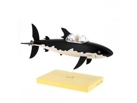 Figura - Tintin and Snowy, Submarine Shark - Tintin