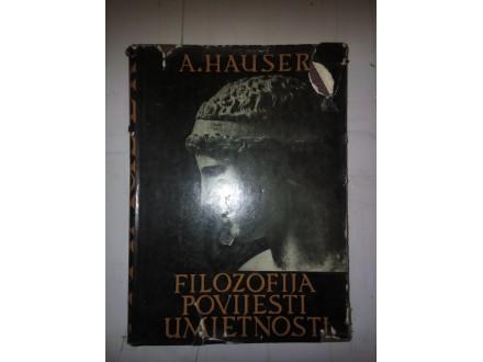 Filozofija povijesti umetnosti - A. Hauser