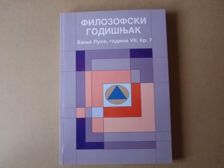 Filozofski godišnjak Banja Luka broj 7
