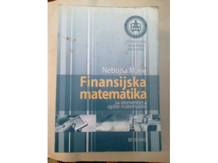 Finansijska matematika - Nebojša Marić