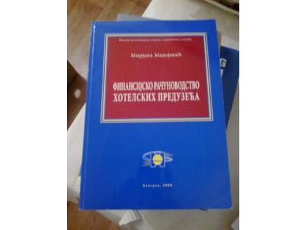 Finansijsko računovodstvo hotelskih preduzeća Medojević