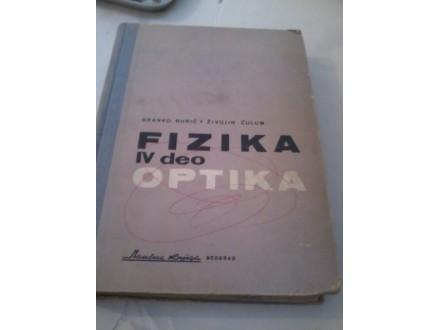 Fizika IV deo - Optika - Branko Đurić Živojin Ćulum
