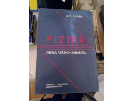 Fizika zbirka rešenih zadataka - dr Olga Žižić