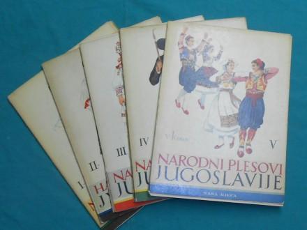 Folk costumes and dances of Yugoslavia -A painter-V.KIR