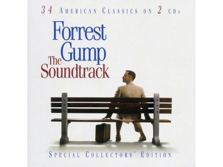 Forrest Gump (The Soundtrack)  2xCD