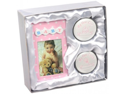 Foto-ram Baby set GS14 boy/girl