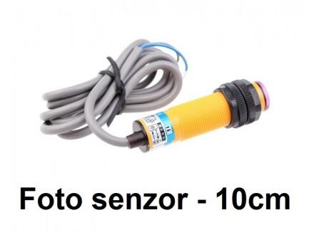 Foto senzor - 10cm - NPN - NO - difuzni - G18
