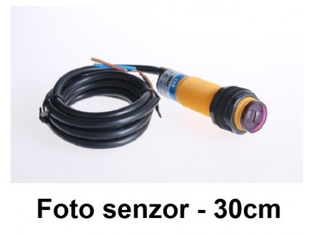 Foto senzor - 30cm - NO - difuzni - 220V - G18