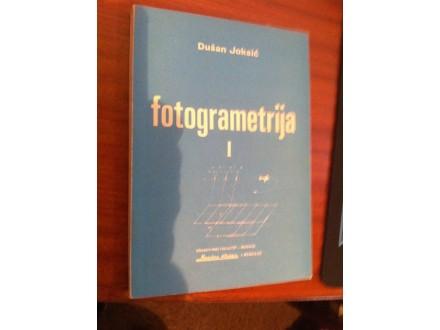 Fotogrametrija I Dušan Joksić