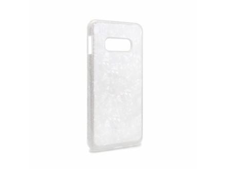 Futrola Crystal cut za Samsung G970 Galaxy S10e srebrna