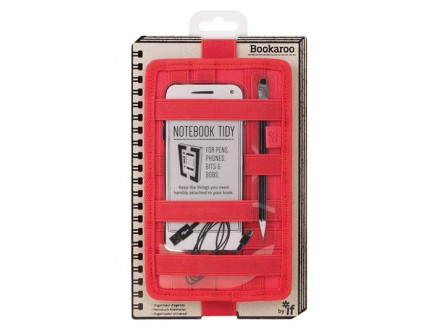 Futrola - Notebook, Bookaroo, Tidy Red