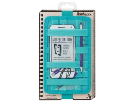 Futrola  - Notebook, Bookaroo, Tidy Turquoise