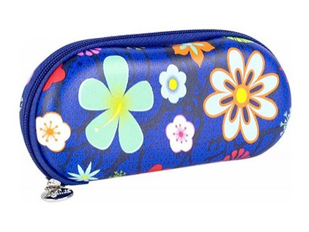Futrola za naočare - Voyage, Blue Flower - Mode et accessoires
