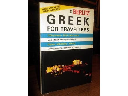 GREEK FOR TRAVELLERS (Berlitz)