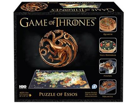 Game of Thrones Puzle 4D - Map of Essos - Game of Thrones