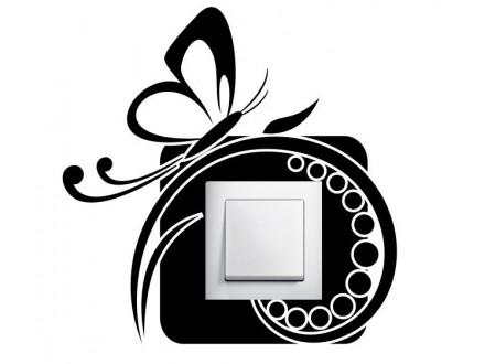 Geco-art dekorativna nalepnica za utičnicu i prekidač