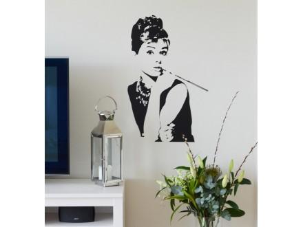 Geco-art nalepnica Audrey Hepburn