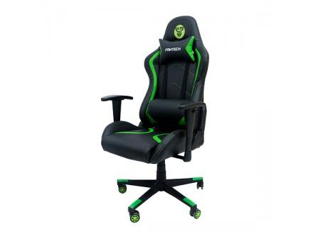 Gejmerska stolica GC-181 zelena FANTECH