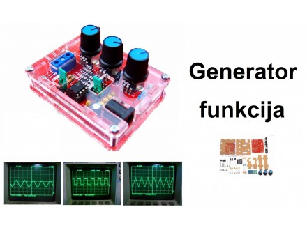 Generator funkcija sa XR2206 - Kit komplet