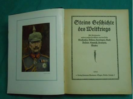 Geschichte des Weltkrieges`Istorija svetskog rata`1915.