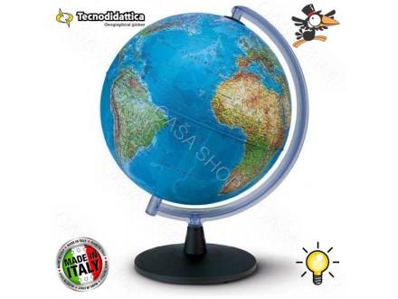 Globus lampa fizičko - geografski svetleći 40cm - Novo