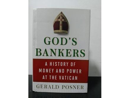 God`s Bankers, Gerald Posner NOVO