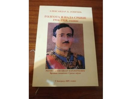 Golgota i nada Srbije 1916 - 1918 . Jovičić