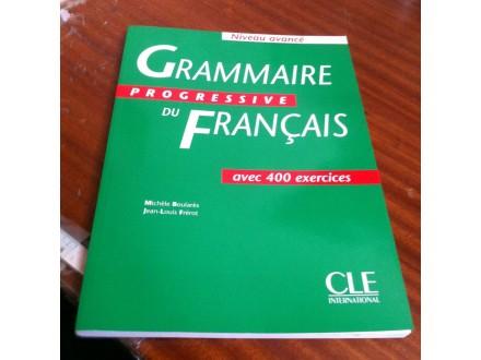 Grammaire progressive du francais Boulares Frerot