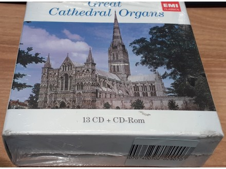 Great Cathedral Organs    13 CD