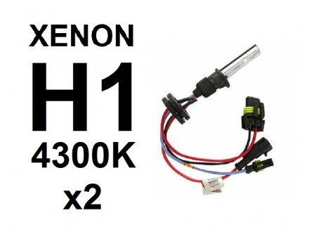 H1 XENON sijalica - 4300K - 35W - 2 komada