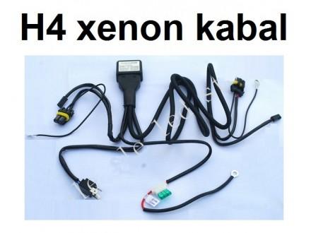 H4 xenon kablovi - Bixenon kabal