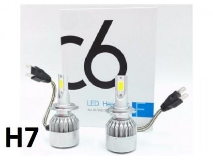 H7 LED Sijalice - 36W - 2 komada