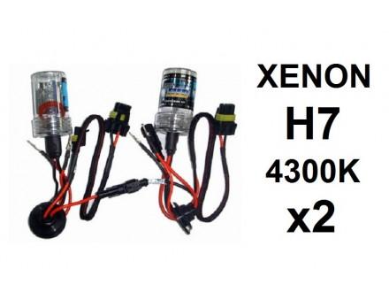 H7 XENON sijalica - 4300K - 35W - 2 komada