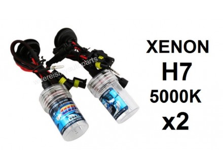 H7 XENON sijalica - 5000K - 35W - 2 komada