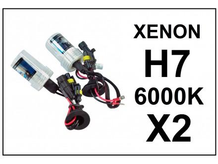 H7 XENON sijalica - 6000K - 35W - 2 komada