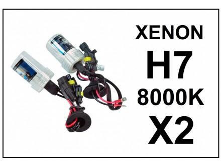 H7 XENON sijalica - 8000K - 35W - 2 komada