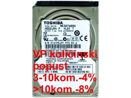 HDD 2.5` ** 320GB MK3276GSX TOSHIBA 5400RPM 8MB SATA 9,5mm