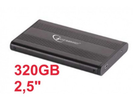 HDD 2.5` + USB 2.0 SATA eksterno kuciste * 320GB MK3276GSX TOSHIBA (1290)